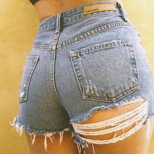 GRLFRNDxRevolve High Rise Shorts